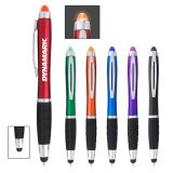 Custom Printed Sangria Stylus Pens with LED Light