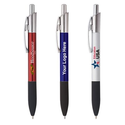 Promotional Logo Lynx Ballpoint Pen - 3 Colors