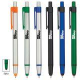 5 Inch Custom Printed Vortex Stylus Pens