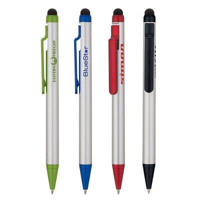 Custom Printed Plastic Ballpoint Stylus Pens