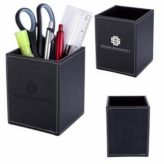 Custom Executive Pen and Pencil Cups