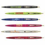 Custom Imprinted BIC Clear Clics Gold Pens