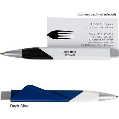Custom Imprinted Square Shape Note Holder Pens