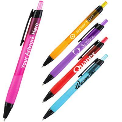 Custom Printed Iris Plastic Pens