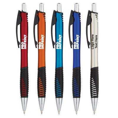 Custom Printed Ridgeline Metallic Arc Pens