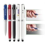 Promotional Atlas Stylus Laser Flashlight Pens