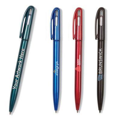 Promotional Zebra Glide Pearlized Twist Pens