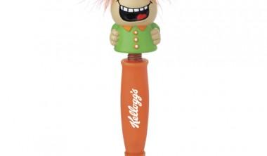 custom logo imprinted laughing pens