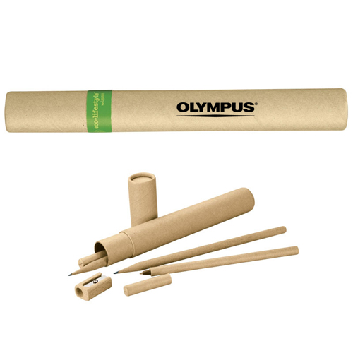 customized pen and pencil set Natural