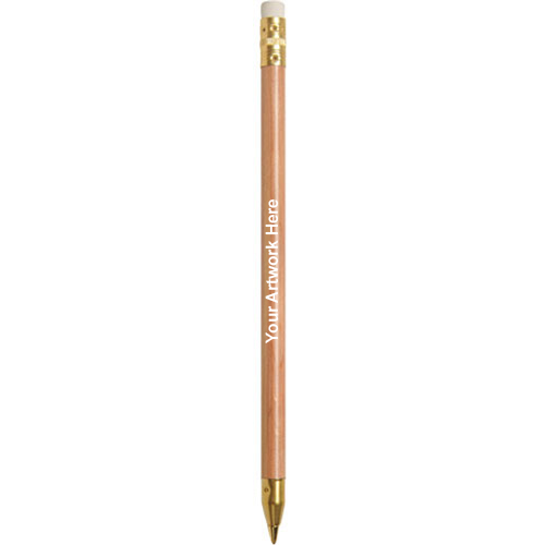 Personalized Wooden Stick Pens