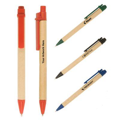Promotional Eco-Green Paper Barrel Pen