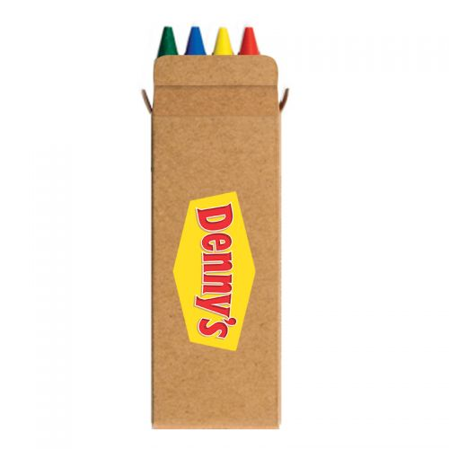 Imprinted 4 Pack Crayons