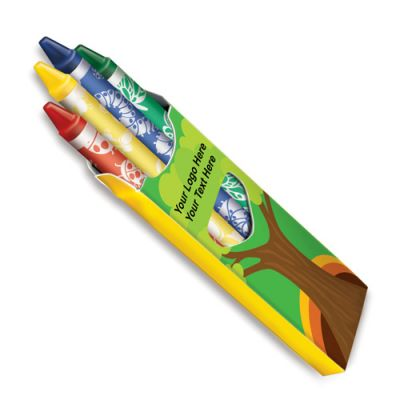 Promotional Logo Crayon Fun Paks