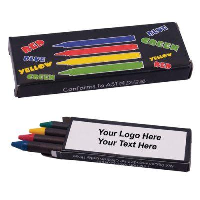 Promotional 4-Piece Crayon Set
