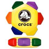 Promotional Crayo-Craze 6 Color Crayon Wheel-Yellow
