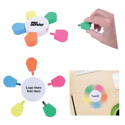 Custom Printed Spinning Highlighters