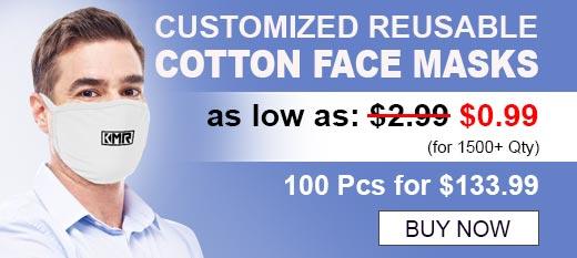 Customized Reusable Cotton Face Masks