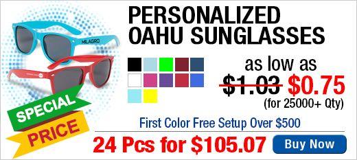 Personalized Oahu Sunglasses