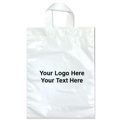 11 x 15 Promotional Soft Loop Handle Bags