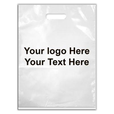 7.5 x 9 Custom Printed Plastic Grab Bags