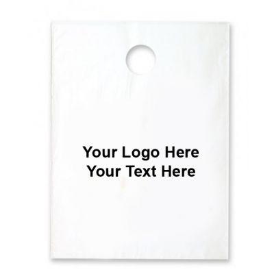 7.5 x 9 Custom Plastic Bags - Standard Litter Bags