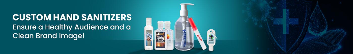 Custom Hand Sanitizers